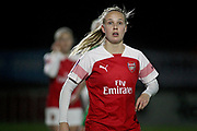 Arsenal forward Beth Mead (23) during the FA Women's Super League match between Arsenal Women and Yeovil Town Women at Meadow Park, Borehamwood, United Kingdom on 20 February 2019.