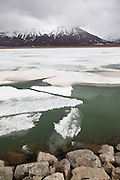 frozen lake, Svalbard II