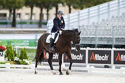 Kerstin Larsson Englund, (SWE), Black Music, - Individual Test Grade Ib Para Dressage - Alltech FEI World Equestrian Games™ 2014 - Normandy, France.<br /> © Hippo Foto Team - Jon Stroud <br /> 25/06/14