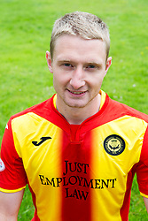 Partick Thistle's Chris Erskine