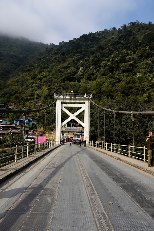 Bridge between Pokhara and Chitwan
