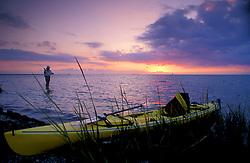 Flyfishing on the Texas Gulf Coast.