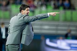 Goran Ivancic, head coach of Serbia during futsal match between Serbia and Italy at Day 3 of UEFA Futsal EURO 2018, on February 1, 2018 in Arena Stozice, Ljubljana, Slovenia. Photo by Urban Urbanc / Sportida