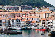 A overview of Lekeitio.