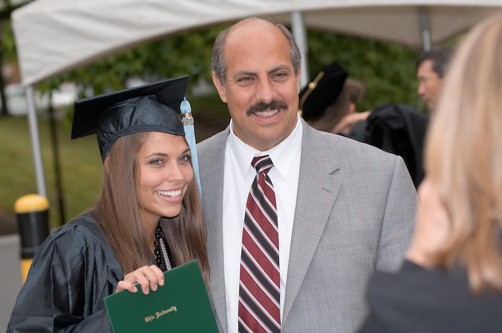 17716Undergraduate Commencement 2006.Jennifer Rupp, Bob Rupp(Dad).17716Undergraduate Commencement 2006