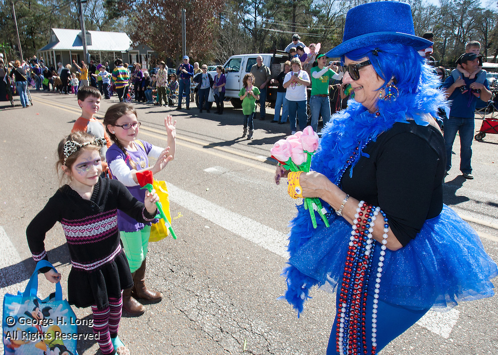 Abita Springs Push Mow Parade, photograph by Grant Therkildsen