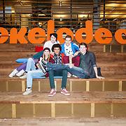 NLD/Amsterdam/20160213 - Fandag Ghost Rockers, Marie Verhulst, Tinne Oltmans, Wout Verstappen, Juan Gerlo en Elindo Avastia