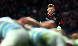 Elliot Daly of England - Mandatory by-line: Robbie Stephenson/JMP - 11/11/2017 - RUGBY - Twickenham Stadium - London, England - England v Argentina - Old Mutual Wealth Series