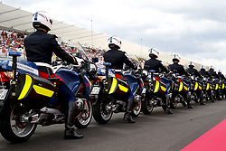 June 24, 2018 - Le Castellet, France - Motorsports: FIA Formula One World Championship 2018, Grand Prix of France, .Gendarmerie (Police) during F1 drivers parade  (Credit Image: © Hoch Zwei via ZUMA Wire)