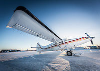 Johnny May's Turbo Otter. Pilot Johnny May flew his 50th annual Candy Drop in Kuujjuaq, Nunavik on December 29th, 2015. This was Bruce Turner's 19th drop and Bryan York's has more then 20. The drop drew nearly 1000 Kuujjuamiut. Gifts from Nunavik Rotors, First Air, Landholding, The Kuujjjuaq Recreation Department, Allan Gordon, Peter Duncan and many others included (but were not limited to) plane tickets, hats, sewing materials, cash prizes, clothing, gift certificates and others. Cold temperatures and high winds delayed the drop which normally takes place on Christmas day. While this was to be Johnny's last Candy Drop the legendary pilot stated that he will fly one more drop in 2016 to make up for not being able to fly on Christmas Day. Many Kuujjuamiut left in the days after Christmas.