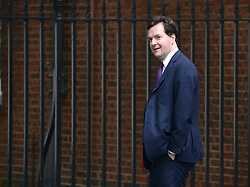 © Licensed to London News Pictures. 12/06/2012. Westminster, UK Chancellor of the Exchequer GEORGE OSBORNE. Politicians on Downing Street today 12 June 2012. Photo credit : Stephen Simpson/LNP