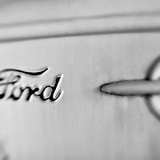 1929 Ford Door Panel - Pottsville - Merlin, Oregon - Lensbaby - Black & White