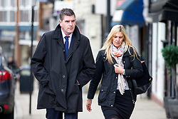 © Licensed to London News Pictures. 13/11/2017. Wakefield UK. Daniel Poole nephew of Ann Maguire at Wakefield Coroners Court today. The inquest into the death of Leeds teacher Ann Maguire is starting today at Wakefield Coroners Court. Mrs Maguire, a 61 year old Spanish teacher, was stabbed to death by Will Cornick at Corpus Christi Catholic College in Leeds in April 2014. The school pupil, who was 15 at the time, admitted murdering Mrs Maguire and was given a life sentence later that year. Since then, some of Mrs Maguire's family have campaigned for further investigation into her death as they believe more could have been done to prevent the tragedy. Photo credit: Andrew McCaren/LNP