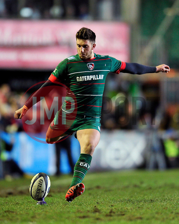 - Photo mandatory by-line: Patrick Khachfe/JMP - Mobile: 07966 386802 07/12/2014 - SPORT - RUGBY UNION - Leicester - Welford Road - Leicester Tigers v Toulon - European Rugby Champions Cup