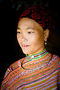 Flower Hmong people