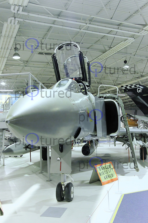 McDonnell Douglas Phantom FGR2 XV424, Royal Air Force Museum Hendon, Photography After Hours, 19 April 2013, (Photo by Richard Goldschmidt)