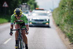 Alison Tetrick (Cylance Pro Cycling) at Aviva Women's Tour 2016 - Stage 1. A 138.5 km road race from Southwold to Norwich, UK on June 15th 2016.