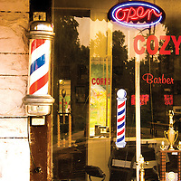 Every small town had a barber shop.