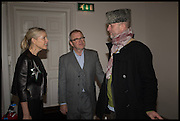 LUCY LYSTER; HARRY ENFIELD; JOHNNY SHAND KIDD, Private view, Paul Simonon- Wot no Bike, ICA Nash and Brandon Rooms, London. 20 January 2015