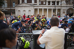 Jelena Eric (SRB) of Cylance Pro Cycling rides mid-pack during the Prudential RideLondon Classique - a 64.8 km road race, starting and finishing in central London on July 28, 2018, in London, United Kingdom. (Photo by Balint Hamvas/Velofocus.com)