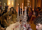 COMTESSE SOPHIE DE PAHLEN AND COMTESSE ANNA DE PAHLEN, Crillon Debutante Ball 2007,  Crillon Hotel Paris. 24 November 2007. -DO NOT ARCHIVE-© Copyright Photograph by Dafydd Jones. 248 Clapham Rd. London SW9 0PZ. Tel 0207 820 0771. www.dafjones.com.