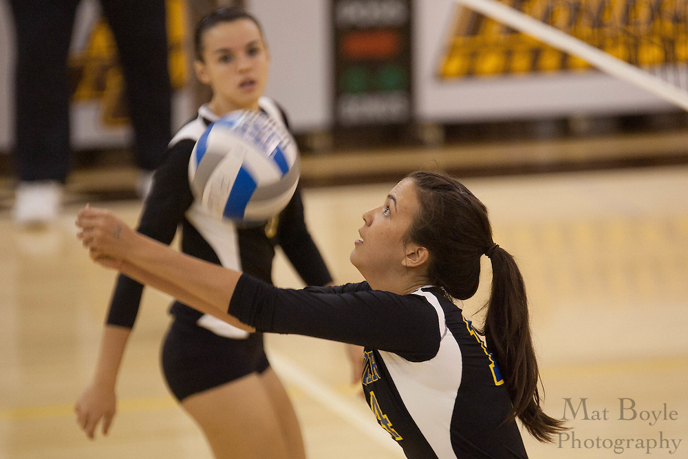 2010 October 26: Rowan University Women's Volleyball defeats Goucher College 3-2.