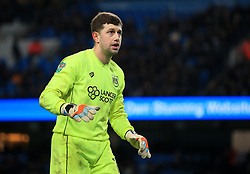 Frank Fielding of Bristol City - Mandatory by-line: Matt McNulty/JMP - 09/01/2018 - FOOTBALL - Etihad Stadium - Manchester, England - Manchester City v Bristol City - Carabao Cup Semi-Final First Leg