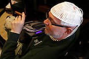 Dr. ROBERT BOLDING of Memphis Tennessee, discovered Christmas week that he had an aggressive brain tumor. His diagnosis is GBM, or Glioblastoma multiforme. Glioblastoma multiforme (GBM) is the most common malignant brain tumor. These tumors often infiltrate the surrounding brain tissue.© Karen Pulfer Focht-ALL RIGHTS RESERVED-NOT FOR USE WITHOUT WRITTEN PERMISSION