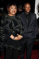 December 3, 2009 - Beverly Hills, CA, U.S. - 3 November 2009 - Beverly Hills, California - Zindzi Mandela and Zwelabo Mandela. ''Invictus'' Los Angeles Premiere held at the Academy of Motion Picture Arts & Sciences.  (Credit Image: © Byron Purvis/AdMedia via ZUMA Wire)