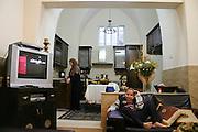 Family in Ajami, Jaffa Israel