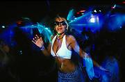 Girl dancing, Club Base, Brazil, 2000's