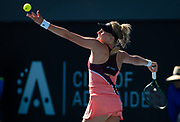 Dayana Yastremska of the Ukraine in action during the first round at the 2020 Adelaide International WTA Premier tennis tournament against Timea Babos of Hungary Photo Rob Prange / Spain ProSportsImages / DPPI / ProSportsImages / DPPI