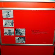 Opening Childeren in war rode kruis fototentoonstelling, overzicht
