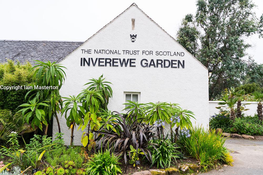 Inverewe Garden visitor centre Poolewe, Wester Ross, Scotland, United Kingdom