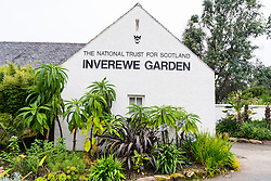 Inverewe Garden visitor centre Poolewe, Wester Ross, Scotland, United Kingdom