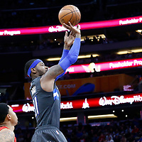 25 February 2017: Orlando Magic forward Terrence Ross (31) takes a jump shot during the Orlando Magic 105-86 victory over the Atlanta Hawks, at the Amway Center, Orlando, Florida, USA.