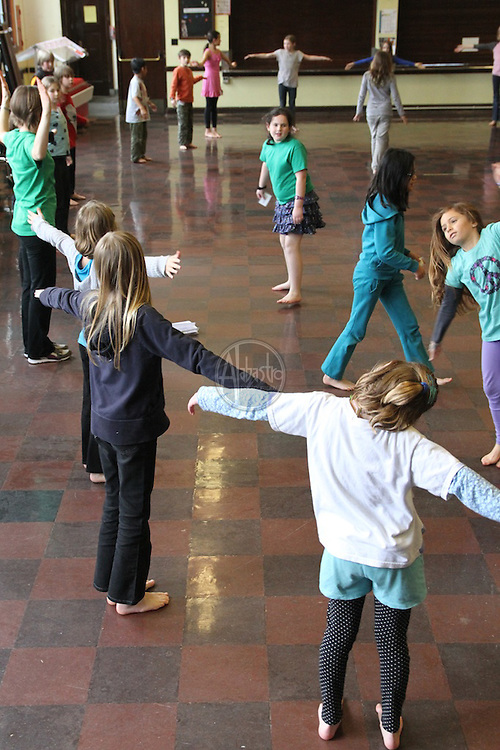 PNB Discover Dance at Bagley Elementary.