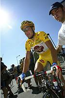 CYCLING - TOUR DE FRANCE 2004 - STAGE 11 - SAINT FLOUR > FIGEAC - 15/07/2004 - PHOTO : NICO VEREECKEN / DIGITALSPORT    <br /> THOMAS VOECKLER (FRA) / BRIOCHES LA BOULANGERE
