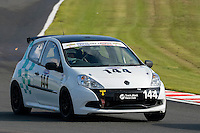 #144 Kevin Jones Renault Clio 2000 during the CSCC Tin Tops at Oulton Park, Little Budworth, Cheshire, United Kingdom. October 15 2016. World Copyright Peter Taylor/PSP. <br /> Copy of publication required for printed pictures.  Every used picture is fee-liable. http://archive.petertaylor-photographic.co.uk