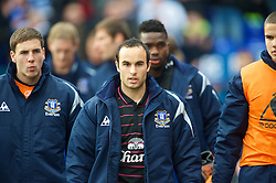 BIRMINGHAM, ENGLAND - Saturday, March 13, 2010: Everton's Landon Donovan before the Premiership match against Birmingham City at St Andrews. (Photo by David Rawcliffe/Propaganda)