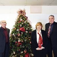 From left: District Interim Superintendent and Director of Instruction Alton Autrey, Central Consolidated School Assistant Superintendent Dr. Rebecca Benedict and Belen Central Consolidated Schools Superintendent Max Perez.