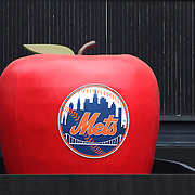 The 'home run' big apple during the New York Mets V Saint Louis Cardinals Baseball game at Citi Field, Queens, New York. USA. 13th June2013. Photo Tim Clayton