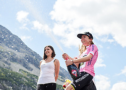 Annemiek van Vleuten (NED) stage win sees her take the race lead after Stage 5 of 2019 Giro Rosa Iccrea, a 88.8 km road race from Ponte in Valtellina to Lago di Cancano, Italy on July 9, 2019. Photo by Sean Robinson/velofocus.com