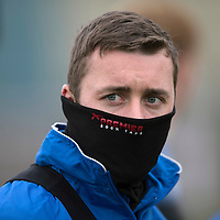 St Johnstone Training….14.10.16<br />Tam Scobbie pictured in training this morning atr McDiarmid Park ahead of tomorrows game against Kilmarnock<br />Picture by Graeme Hart.<br />Copyright Perthshire Picture Agency<br />Tel: 01738 623350  Mobile: 07990 594431