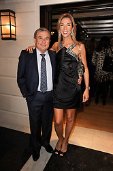 SOL & HEATHER KERZNER at a dinner hosted by jewellers Damiani at The Connaught Hotel, London on 3rd February 2010.