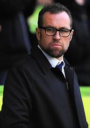 Crewe Alexandra manager David Artell looks on- Mandatory by-line: Nizaam Jones/JMP - 18/11/2017 - FOOTBALL - New Lawn Stadium - Nailsworth, England - Forest Green Rovers v Crewe Alexandre-Sky Bet League Two