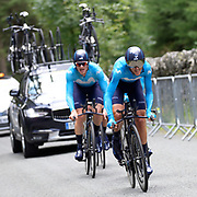 Images from the stage 6 of the 2018 edition of the Tour of Britain cycle race on Thursday 6 September 2018.