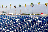 Solar panel array at MillerCoors in Irwindale, California. The company has just installed the largest solar panel array at any brewery in the United States, which generates enough power to produce 7 million cases of beer annually.<br /> (Photo by Ringo Chiu/PHOTOFORMULA.com)