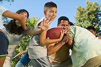 Family Football Game