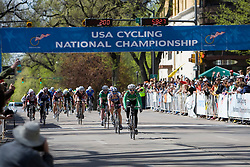 Jen Stebbins (Dartmouth College) wins the 2008 USA Cycling Collegiate National Championships Criterium women's division 2 event held in Fort Collins, CO on May 11, 2008.